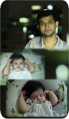 Rizwan & Little Raya